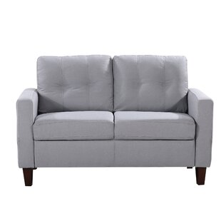 Keating Loveseat by Ebern Designs Amazing