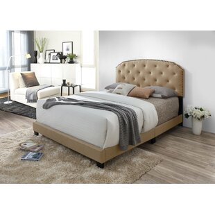 Serenity Upholstered Panel Bed