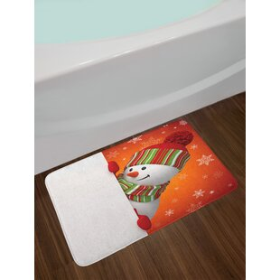 Cute Christmas Bath Rug