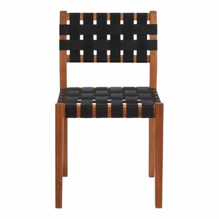 Bossett Solid Wood Dining Chair By Mercury Row