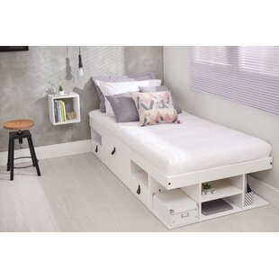 Affordable Price Pharr Storage Platform Bed by Latitude Run Reviews (2019) & Buyer's Guide