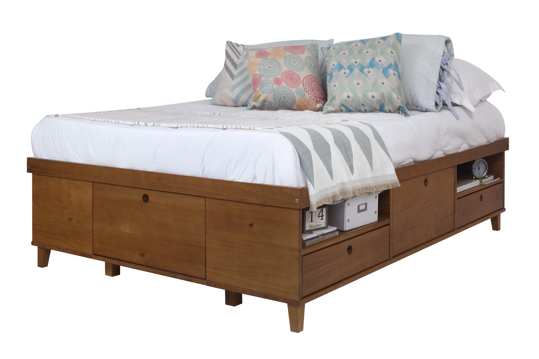 Picture of: Corrigan Studio Landon European Kingsize Storage Bed