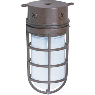 Edgewood Outdoor Bulkhead Light by Breakwater Bay