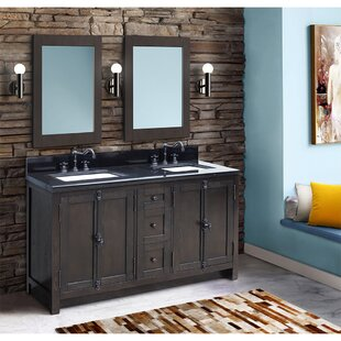 Top Rickard 55 Double Bathroom Vanity Set By Gracie Oaks