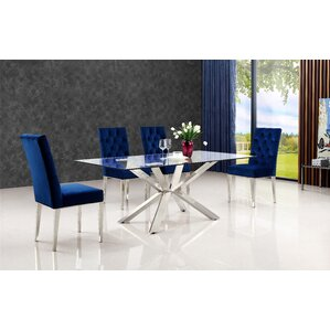 Marshall 5 Piece Dining Set by Everly Quinn