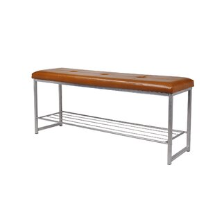Ebern Designs Orvis Faux Leather Storage Bench