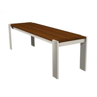 Modern Outdoor Luma Aluminum Picnic Bench