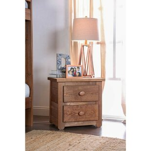 Kropp 2 Drawer Nightstand by Millwood Pines Top Reviews