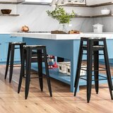 Isabel 30 Bar Stool (Set of 4) by Laurel Foundry Modern Farmhouse