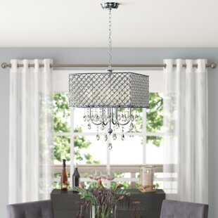 Holford 4-Light Crystal Chandelier by Hou..