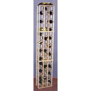 Premium Redwood 63 Bottle Floor Wine Rack..
