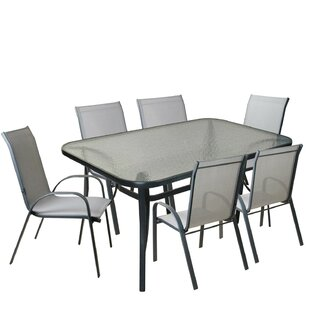 Jonina 7 Piece Outdoor Patio Dining Set