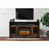 Ackermanville TV Stand for TVs up to 65 with Electric Fireplace Included by Red Barrel Studio®
