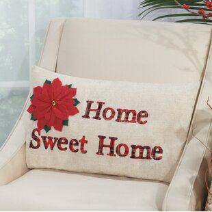 Home Sweet Home Throw Pillow by The Holiday Aisle Amazing