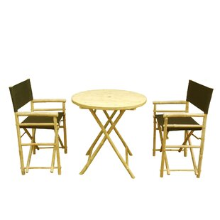 Phat Tommy 3 Piece Bistro Set by Buyers C..