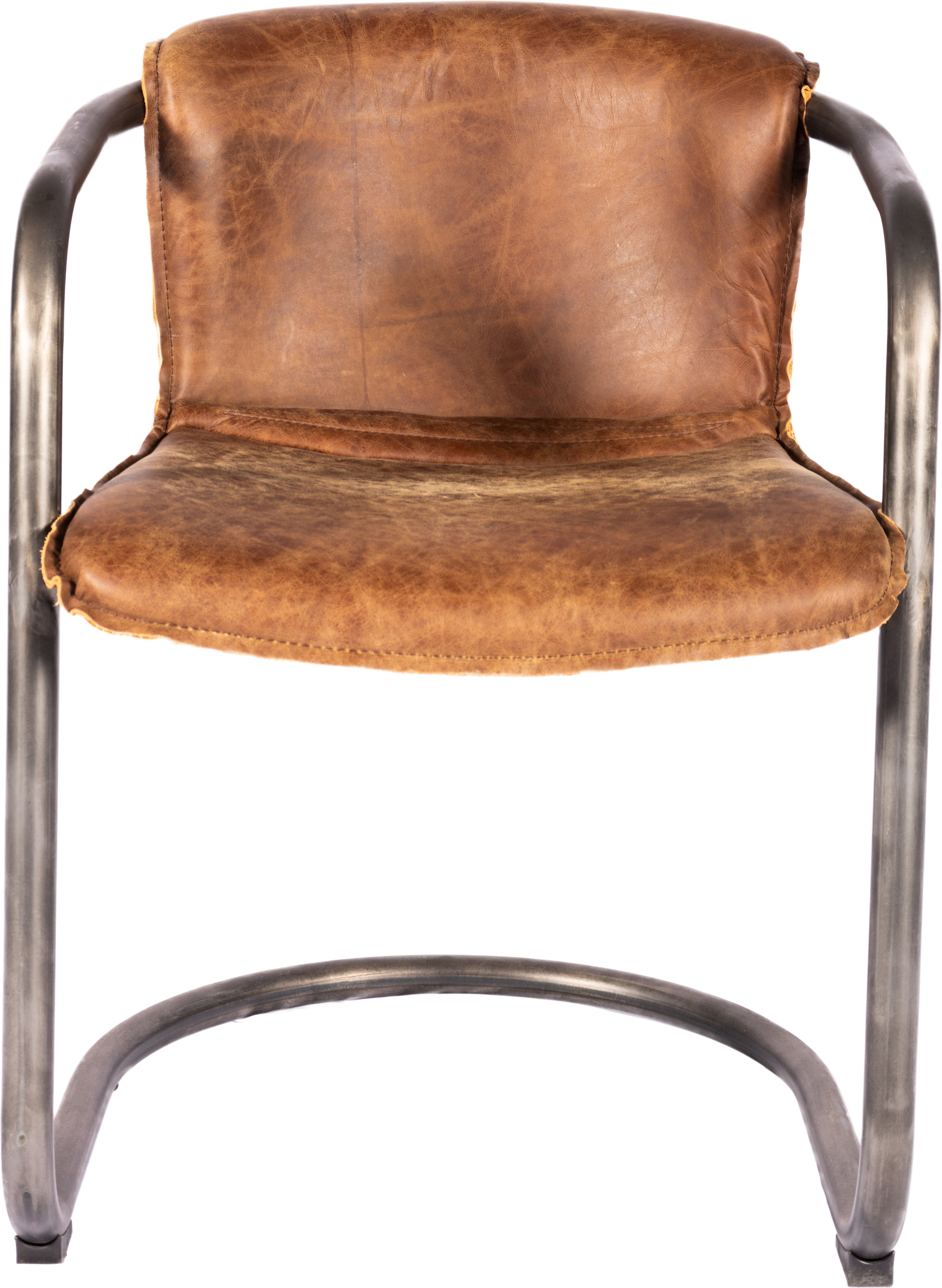 Luxury Genuine Leather Dining Chairs Perigold