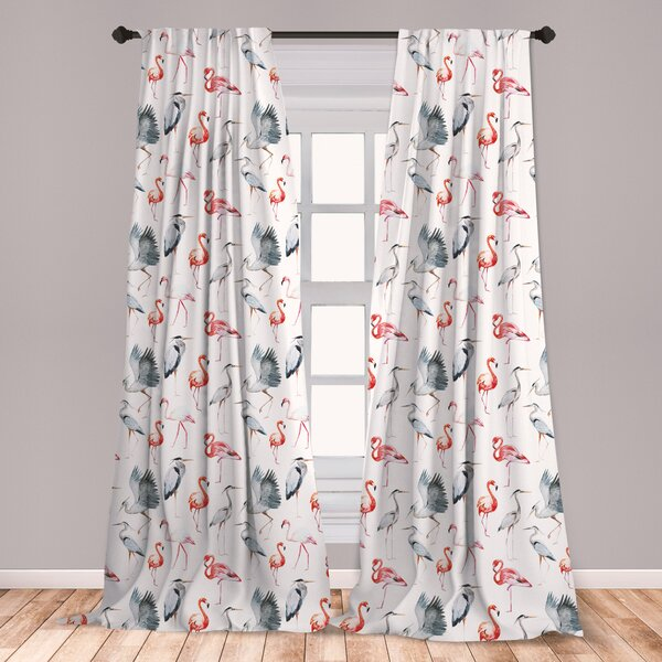 Flamingo Curtains Wayfair