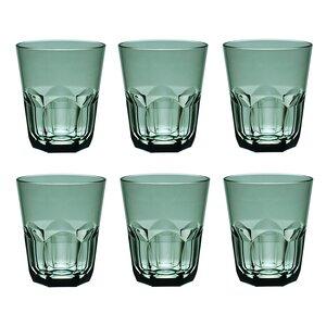 Rosaura 15 oz. Plastic/Acrylic Rocks Glass (Set of 6)