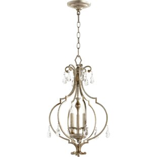 Ophelia & Co. Richason Entry 3-Light Lantern Pendant