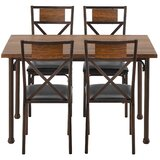 Sigel 5 - Piece Dining Set by Williston Forge