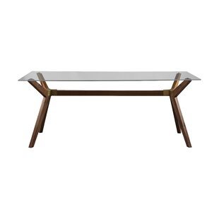 Modern Contemporary Smoked Glass Dining Table Allmodern
