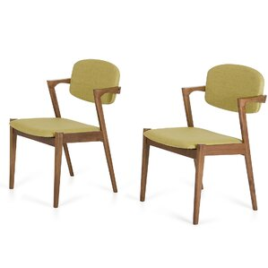 Virgil Side Chair (Set of 2) by Corrigan Studio