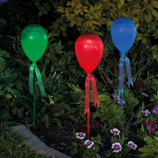 Tedeschi Solar Balloon Stake 1 Light Pathway Light By Sol 72 Outdoor