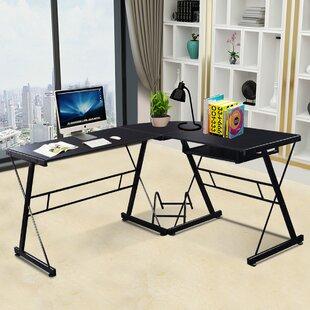 Symple Stuff Wagoner L-Shape Computer Desk