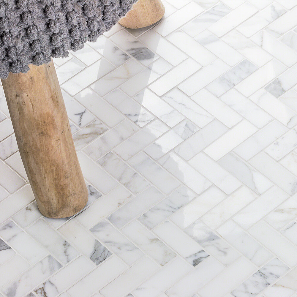 Ivy Hill Tile 1 X 3 Straight Edge Natural Stone Mosaic Sheet Floor Use Tile Reviews Wayfair