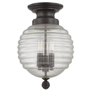 Brayden Studio Lazo 3-Light Semi Flush Mount