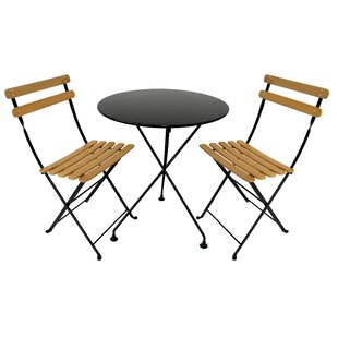 Furniture Designhouse European Café 3 Piece Dining Set