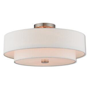 Dundee Transitional Semi Flush Mount by Ivy Bronx