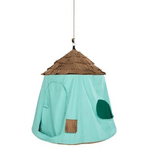Go! HangOut™ Cotton Hanging Chair By Freeport Park