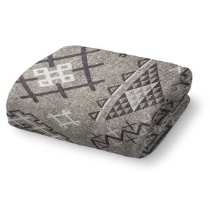 cyrill fleece throw blanket