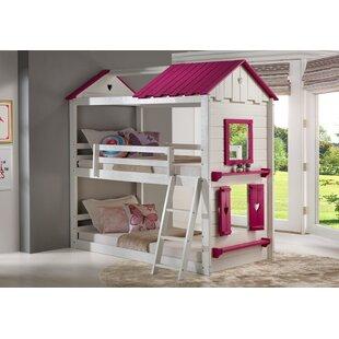 Schooley Twin Over Twin Loft Bed by Zoomie Kids