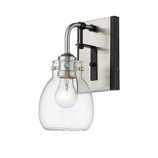 Lang 1-Light Armed Sconce by Breakwater Bay