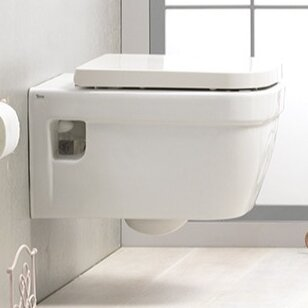 CeraStyle by Nameeks Noura 1.2 GPF Elongated Wall Hung Toilets