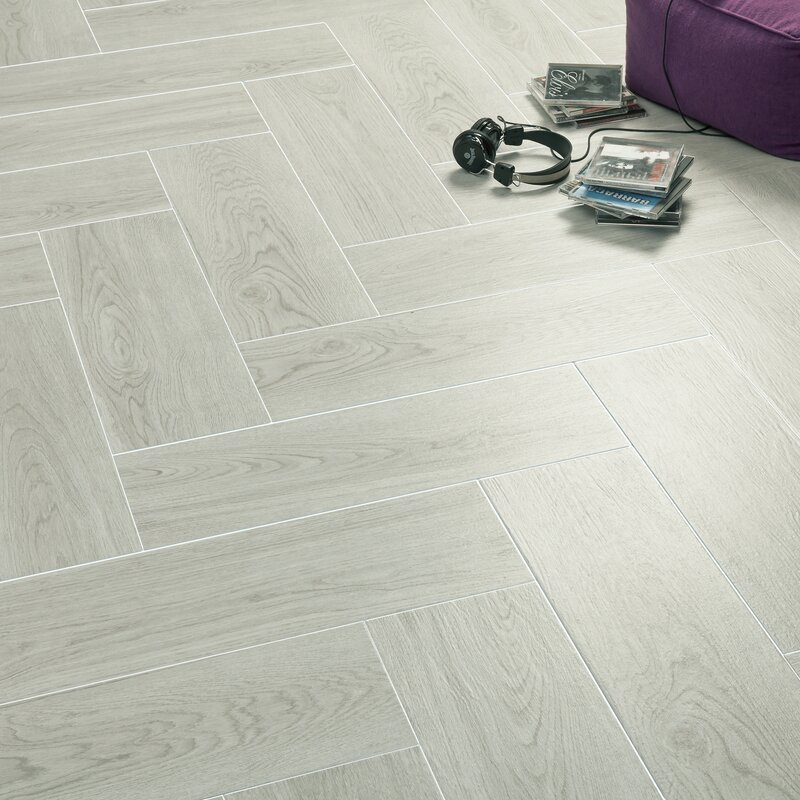 Elitetile Sebastian 788 X 2363 Ceramic Wood Tile In Gray