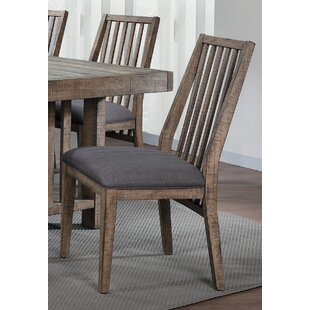 Union Rustic Huang Upholstered Dining Chair (Set of 2)