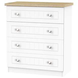 Rosio 4 Drawer Chest By Brambly Cottage