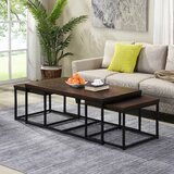 Reimund 3 Piece Coffee Table Set by Latitude Run®