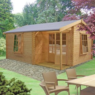 Sorrento 13 X 12 Ft. Tongue And Groove Log Cabin By Sol 72 Outdoor