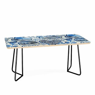 Tropical Forest Leaves Coffee Table