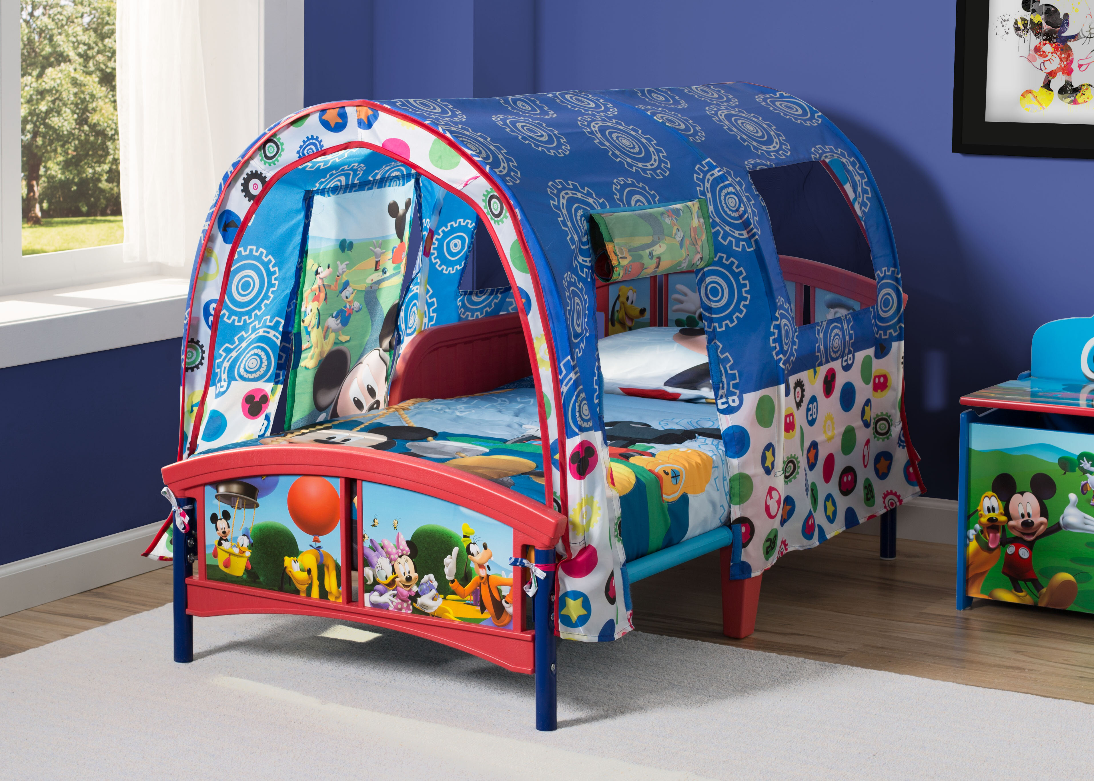Image of: Delta Children Disney Mickey Mouse Toddler Bed Reviews Wayfair
