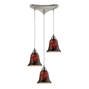 Reina 3-Light Cluster Pendant by Bloomsbury Market
