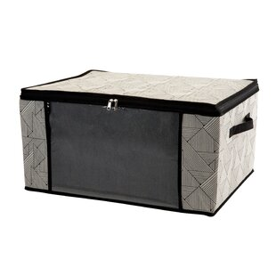 Compare & Buy Natural Jumbo Fabric Underbed Storage ByWrought Studio