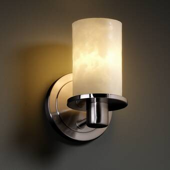 Canora Grey Doyers Tradition 1 Light Wall Sconce Wayfair