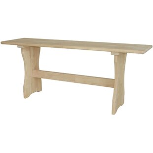 International Concepts Trestle Wood Bench