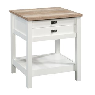 Comparison Paignt 1 Drawer Nightstand by Three Posts