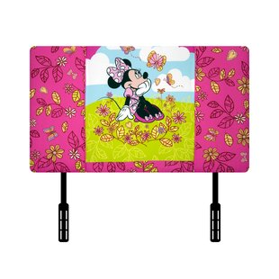 Disney Minnie Mouse Cuddly Cuties Twin Upholstered Headboard